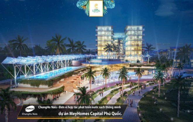 ChungHo Nais cung cấp giải pháp nước sạch thông minh tại dự án Meyhomes Capital Phú Quốc