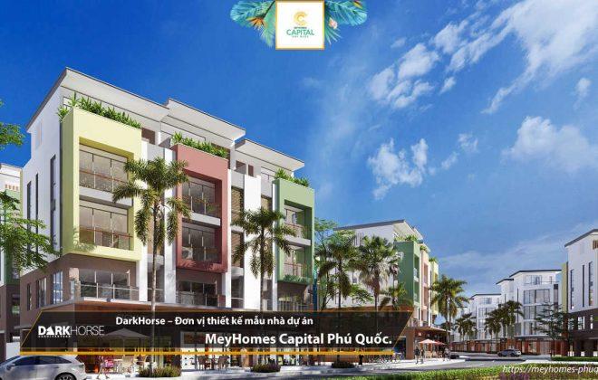 DarkHorse - đơn vị thiết kế kiến trúc và tư vấn thiết kế quy hoạch cho Meyhomes Capital Phú Quốc
