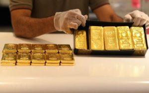 Giá vàng biến động