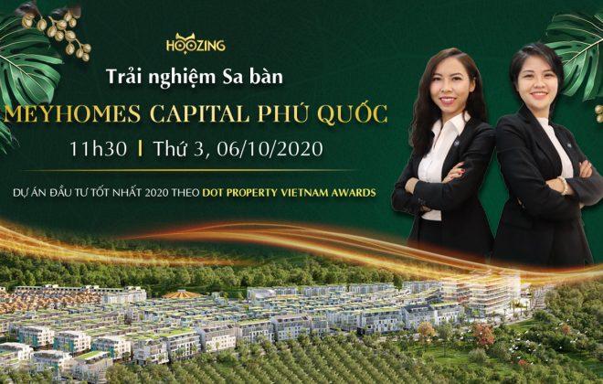 Trải nghiệm sa bàn Meyhomes Capital Phú Quốc