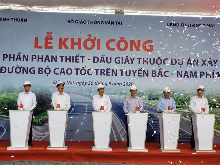 Lễ khởi công cao tốc Dầu Giây - Hồ Chí Minh - Phan Thiết