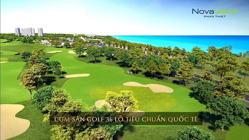 Golf Villa 36 lỗ tuyệt vời tại Novaworld Phan Thiết