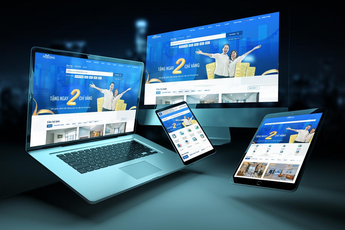 Phiên bản website mới của Hoozing được chú trọng tối ưu hóa giao diện và trải nghiệm người dùng, mang đến sự thân thiện, hiện đại và dễ dàng sử dụng.