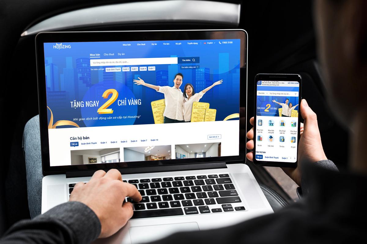Website Hoozing được kỳ vọng sẽ là một công cụ hỗ trợ, một kênh bán hàng mới hiệu quả cho Bất động sản, giúp quản trị dữ liệu và tăng cường kinh doanh.