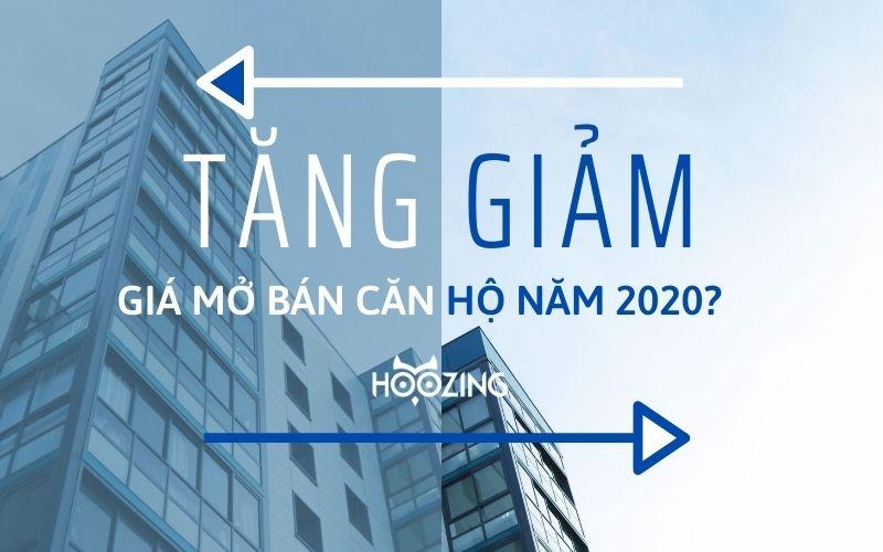 giá mở bán căn hộ năm 2020