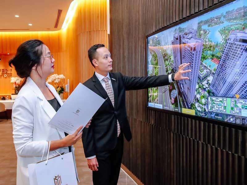 Nhà mẫu Masteri Centre Point ứng dụng công nghệ thực tế ảo