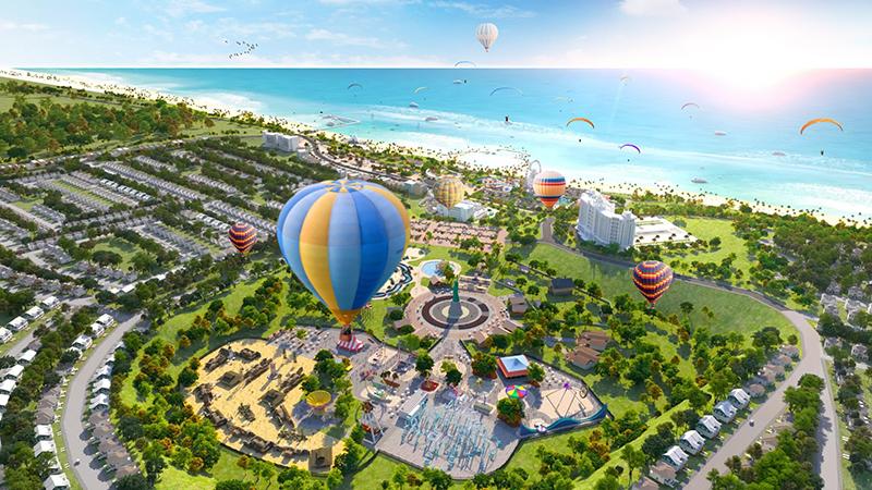 Công viên giải trí 25ha tại Novaworld Phan Thiết